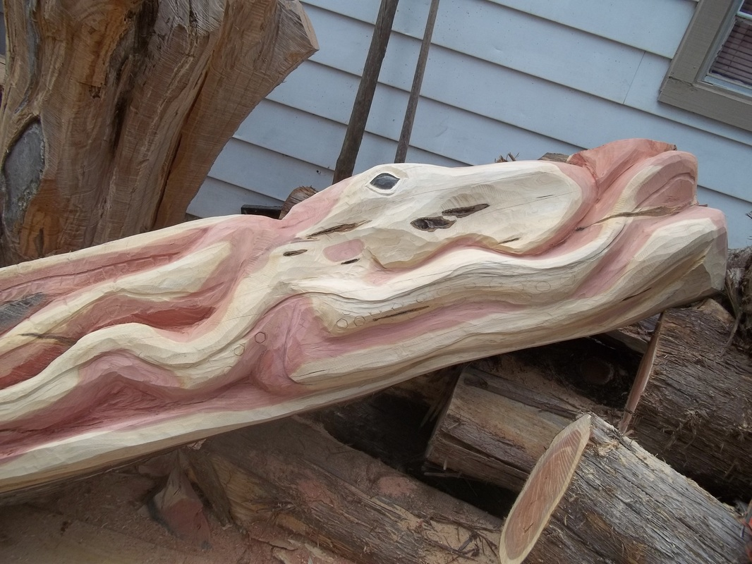 Other carvings james custom chainsaw